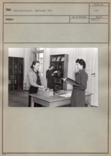 Musikbücherei, Ausleihe 1942